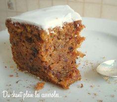 Le plus fondant des carrot cakes, sous un glaçage tout blanc ... - Paperblog
