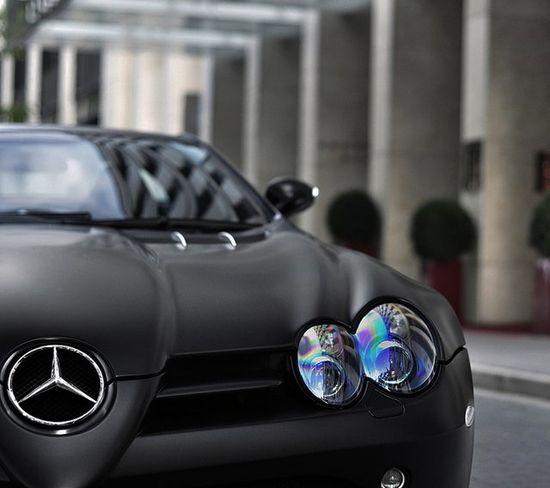 Matte black SLR