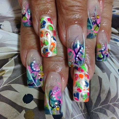 colorful - Nail Art Gallery by NAILS Magazine