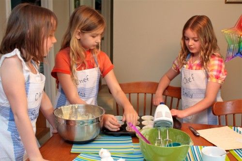 cooking themed birthday party