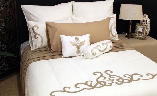St Tropez inspired bedroom decor