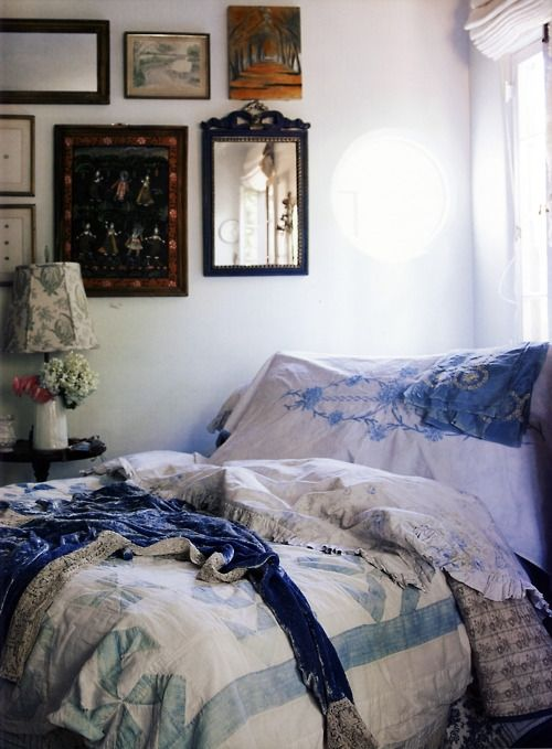 Down and Out Chic: Interiors: Boho Bedrooms