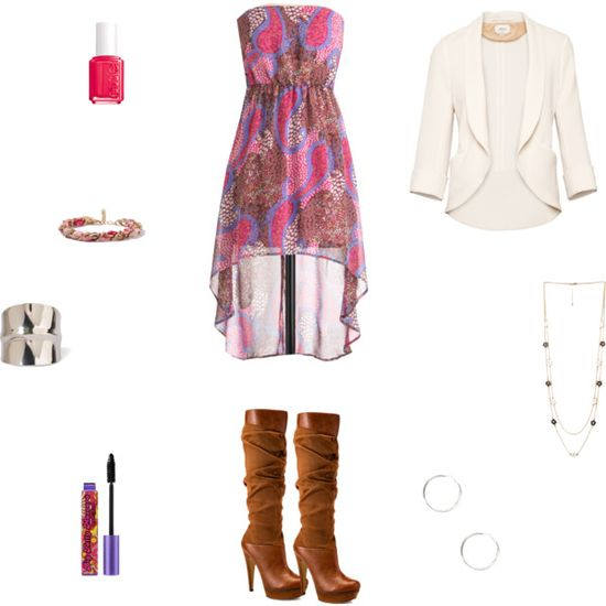 """""""Summer Clothes to Fall- Dress"""" by mistyfashion2000 on Polyvore"""