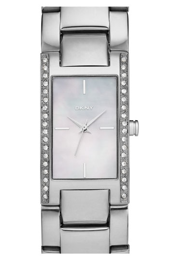 DKNY Medium Rectangular Bracelet Watch