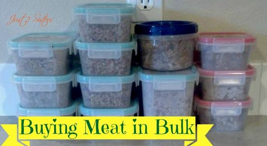 Buying Meat in Bulk to Save Money!