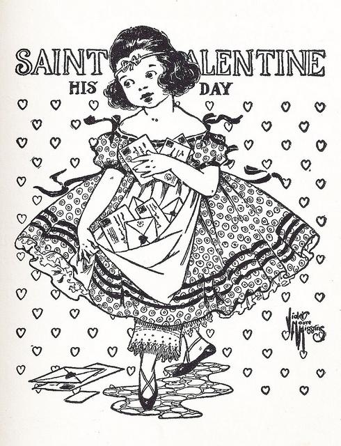 St. Valentine Day - vintage
