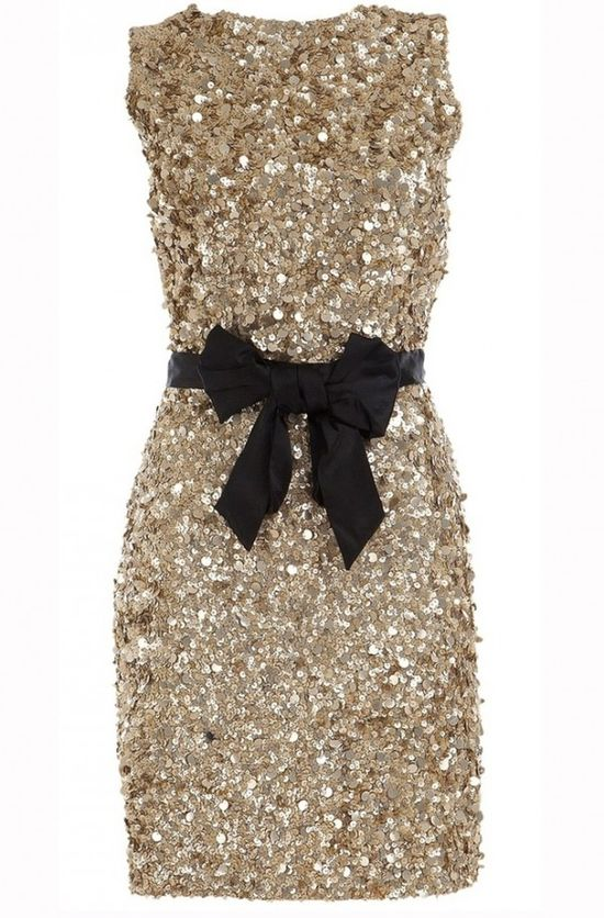 Gold Bridesmaid Dress or perfect for new year's!
