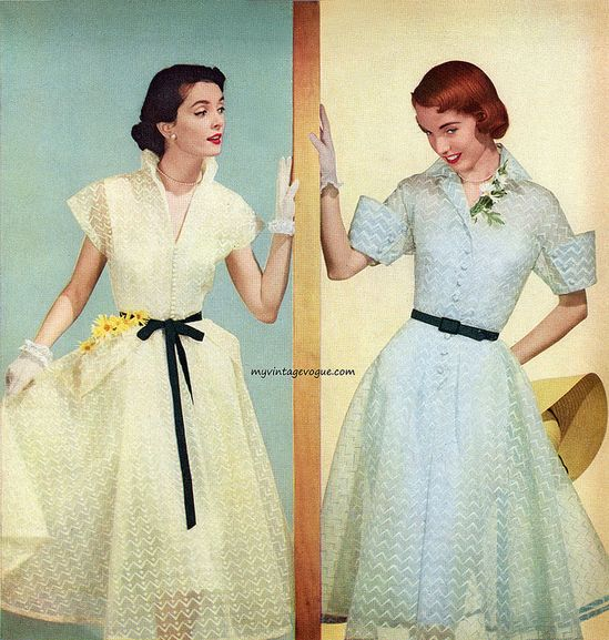 1950's day dresses