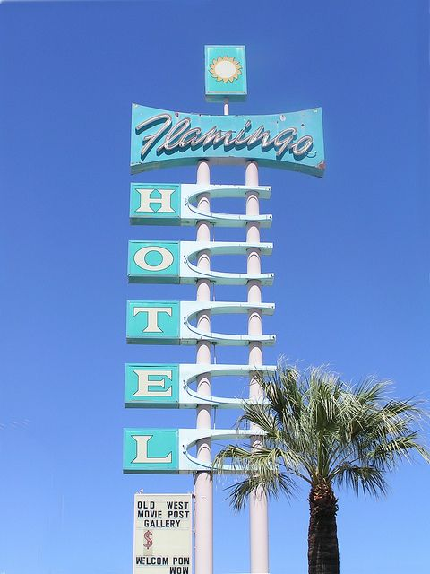 The Flamingo Hotel represents the truth Stanley had uncovered about Blanche. This hotel is in Laurel, and supposedly the place where Blanche had her strangers come and fill that emptiness by  doing you know what.
