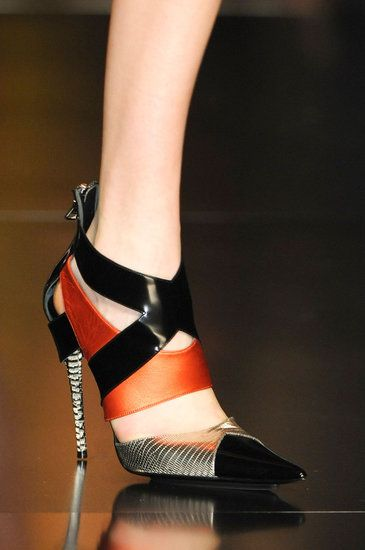 Runway Recap: The Best Shoes From Milan Fall 2013: Pucci Fall 2013  : Salvatore Ferragamo Fall 2013  : Salvatore Ferragamo Fall 2013  : Etro Fall 2013