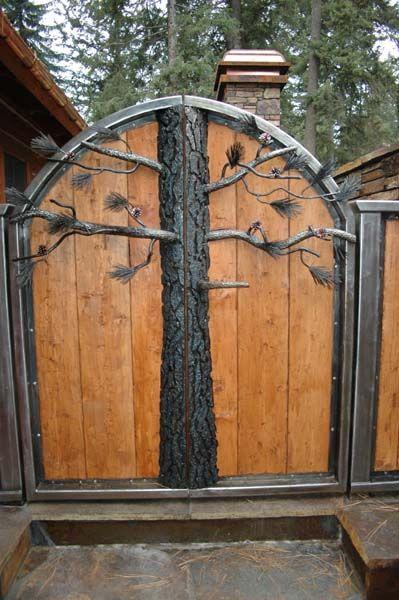 tree gate-cool!