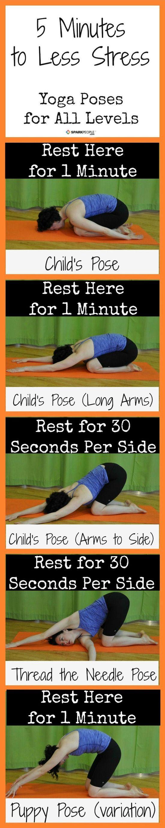 5-Minute #Yoga Routine to Beat Stress