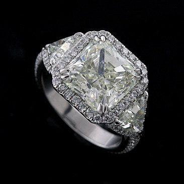 Vintage diamond #engagement ring