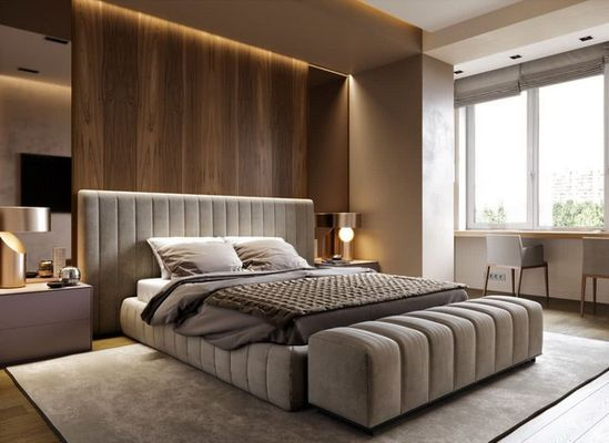 Woven rattan furnishings (and decor) are durable while adding texture and a natural, light feel to a room. 14 2021 Bedroom Ideas Bedroom Design Bedroom Interior Luxurious Bedrooms