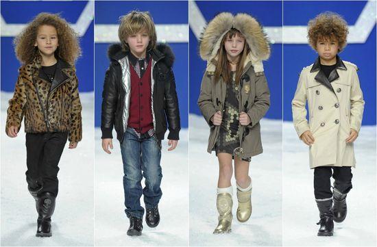 lovely kids fashion show 2013 Abrigos, capas y capuchas: Así abrigaremos a los 'peques' este invierno