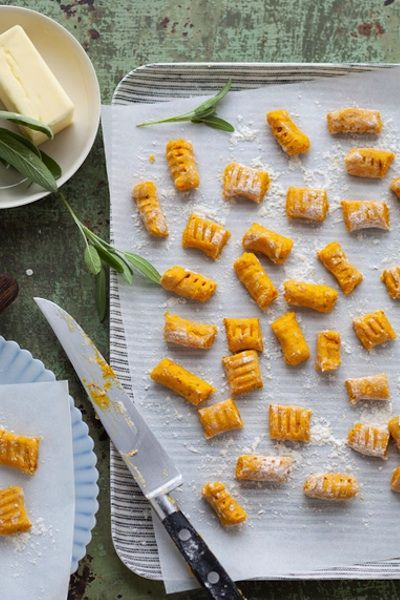 Pumpkin Quinoa Gnocchi