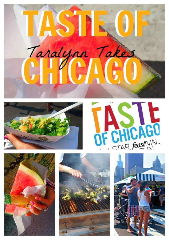 Taralynn Takes On Taste Of Chicago. How do you eat healthy at a place like this!? www.greennutrilab...