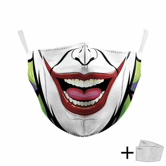 Masque de protection avec filtre interchangeable