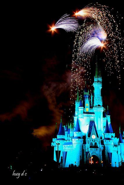 Disney firework