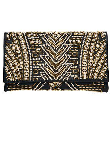 Deco Drama Fashion Trend - Art Deco Fashion Trend Spring 2012 - Harper's BAZAAR