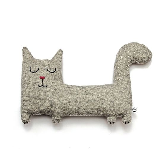 Jerry the Cat Lambswool Plush  Made to order by saracarr on Etsy, $48.00