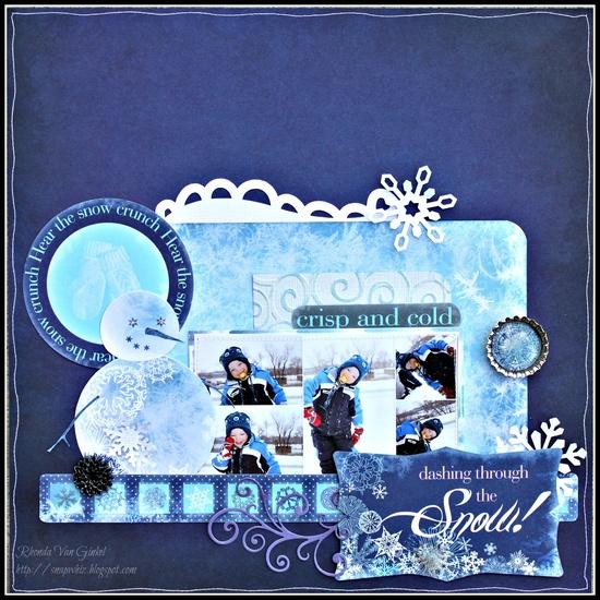 Moxxie:  Crisp and Cold! - Scrapbook.com