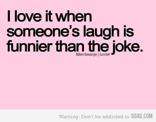 Its good to be able to laugh either way.