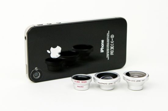 pro lenses for iphone.  Genius.