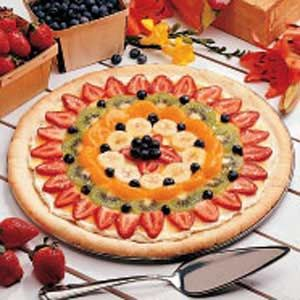 Fruit Pizza - Desert Pizza
