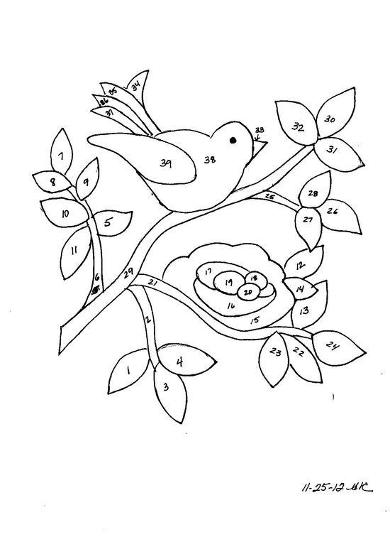 bird, nest & vine vi