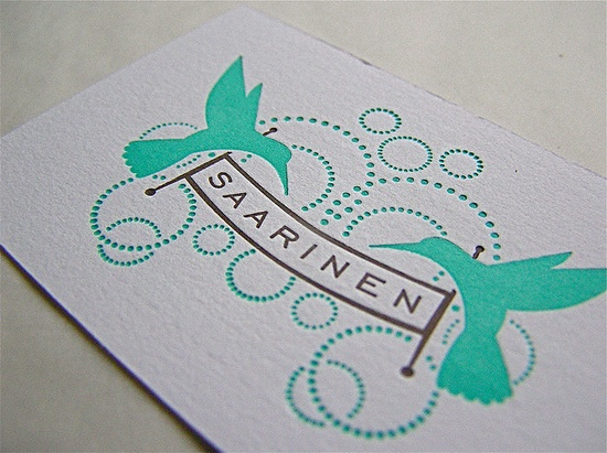 Beautiful Elegant Business Card (not a tutorial)