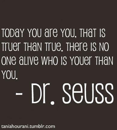 Dr Seuss knows.
