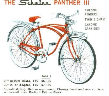 """SCHWINN phantom 26/"""" BEACH CRUISER REAR BOOK RACK CARRIER  RED"""