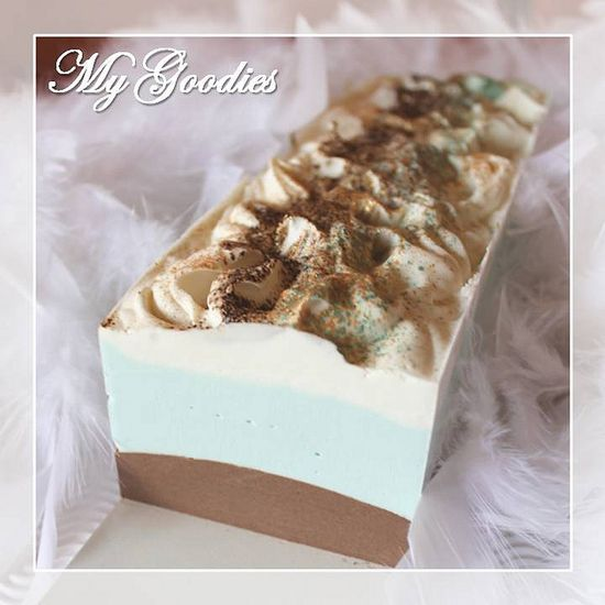 Cold Process Soap Choco-Mint