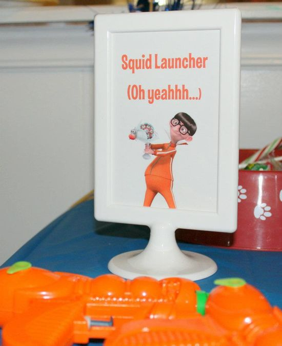 water guns for Vector's squid launchers (oh yeah…) despicable me birthday