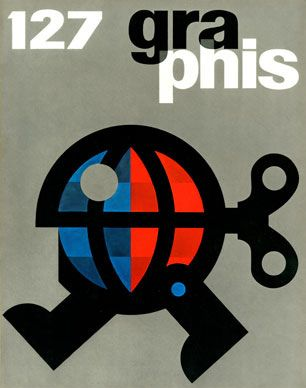 cover of Graphis 127 by Hans Neuburg (1966)