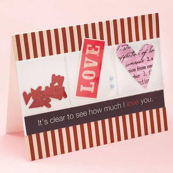 See-Through Valentine Card