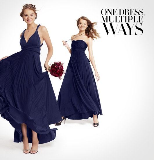 one dress, multiple ways from twobirds available @ #nordstrom #wedding