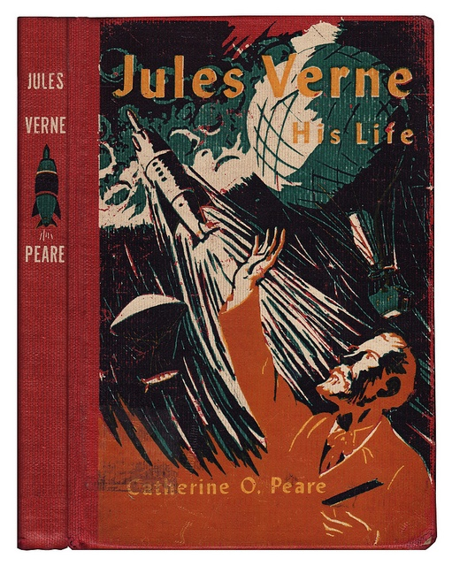 Book cover art: Jules Verne: His Life