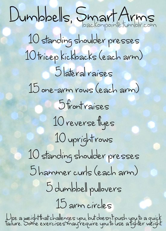 Great arm workout.