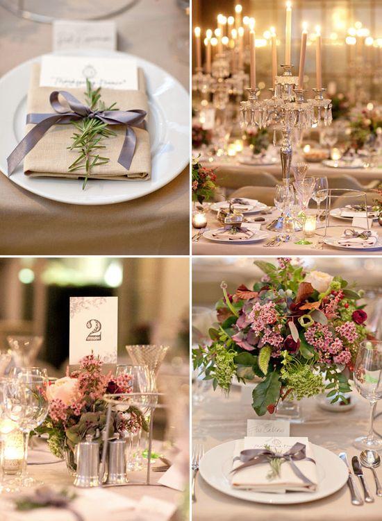 Chic and Elegant Wedding Reception Ideas