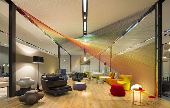 Brisbane Indesign Installation / BVN Architecture #art #installation #string