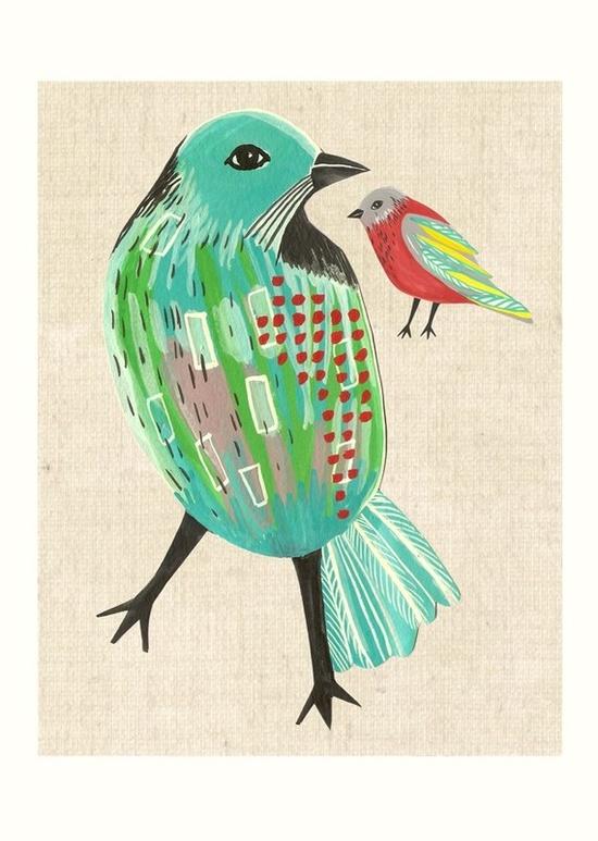 Sweet birdy print! $35
