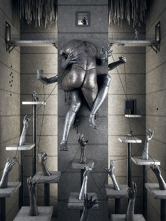 HOT 3d Art by Adam Martinakis