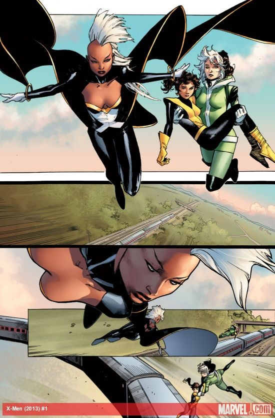 X-Men writer Brian Wood welcomes Storm to the team! Should she always be the leader? marvel.com/...