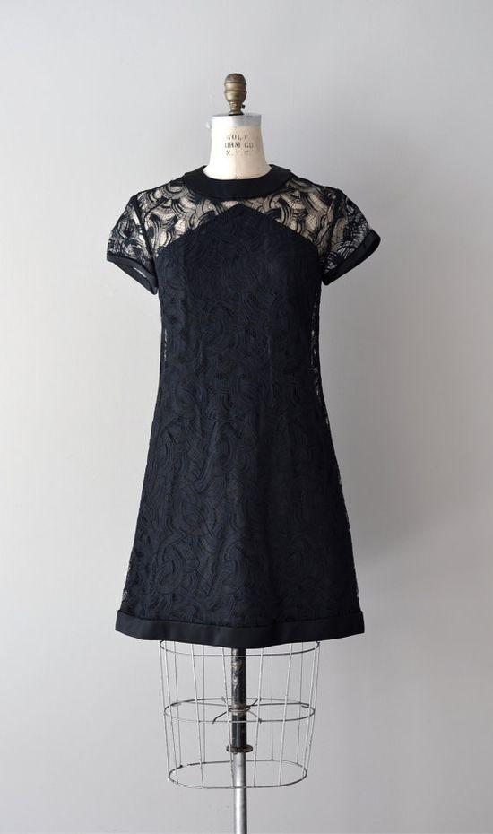 1960s lace dress