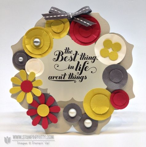 feels good - stampin' up!