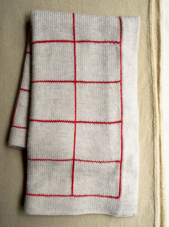 Lines + Squares Baby Blanket - the purl bee