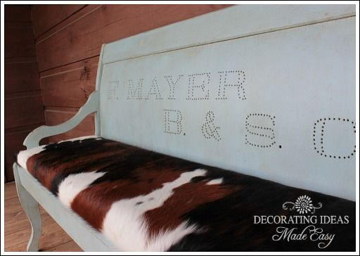 Distressed Painted Furniture Ideas!