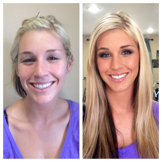 Before and After #Hair and #Makeup for #Engagement Shoot | Elite Makeup Designs | Calabasas, CA
